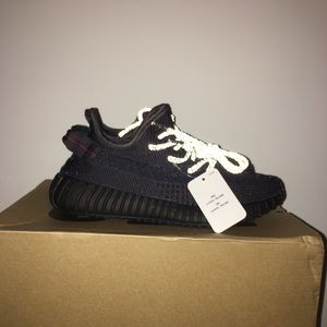 adidas Shoes - yeezy boost 350 black static size 7